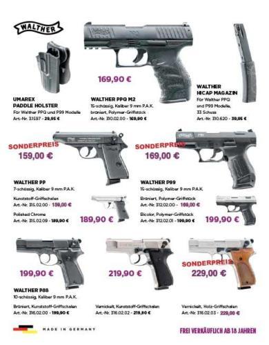 Waffen Hoffmann Neunkirchen, Flyer, Angebote 2020/2021